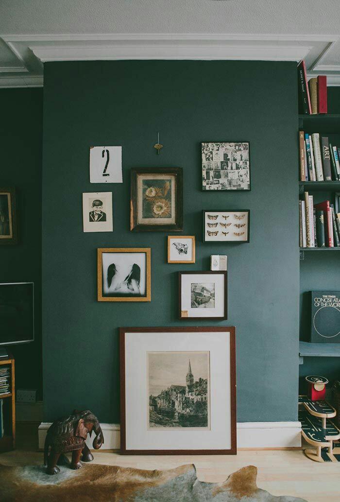 Amato Intenso e audace: il (verde) petrolio nell'interior design NQ92