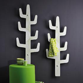 Appendiabiti da parete Saguaro Flexous Lime